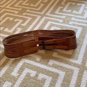 Jcrew tan belt size small